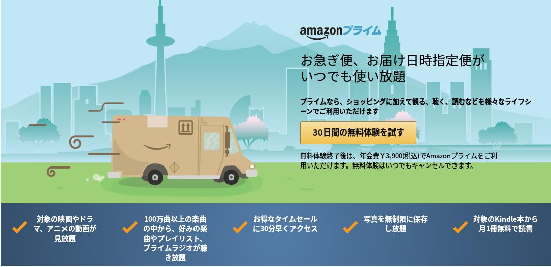 Amazonプライム会員は買い物しなくてもメリットあり